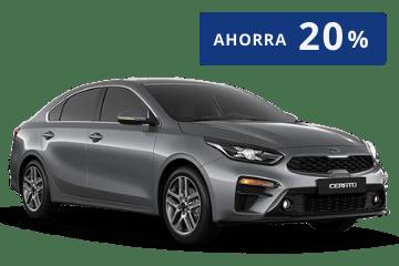 promoción Kia Cerato de 20% de descuento en Pacificar